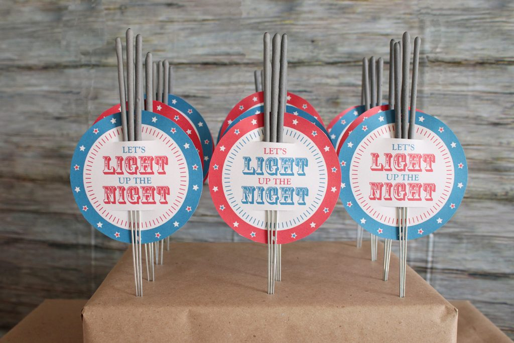 Vintage Patriotic Party Favors