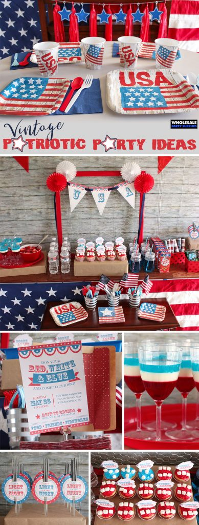Vintage Patriotic Party Pinterest Guide
