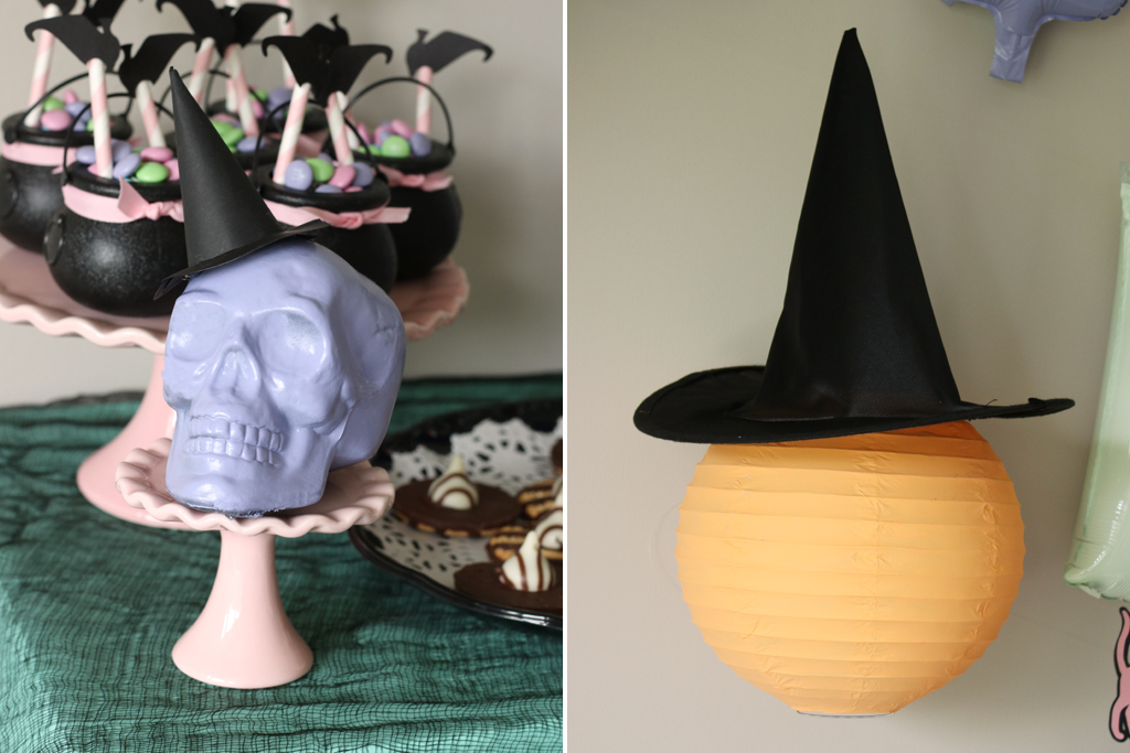 Pastel Halloween Witches Gathering Party Ideas
