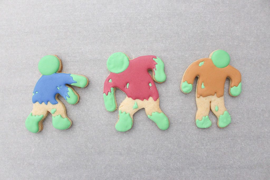 Decorated Zombie Cookie Tutorial