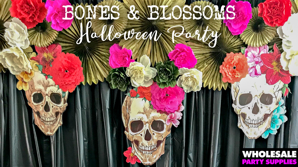 Bones and Blossoms Halloween Party