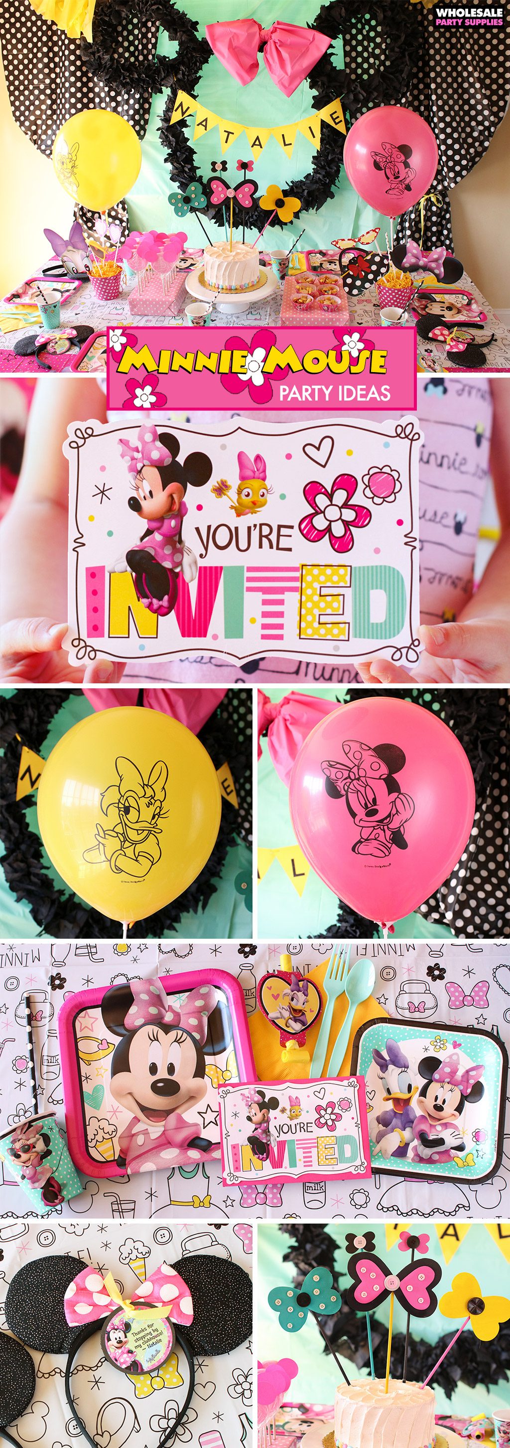 Minnie Mouse Party Ideas Pinterest Guide