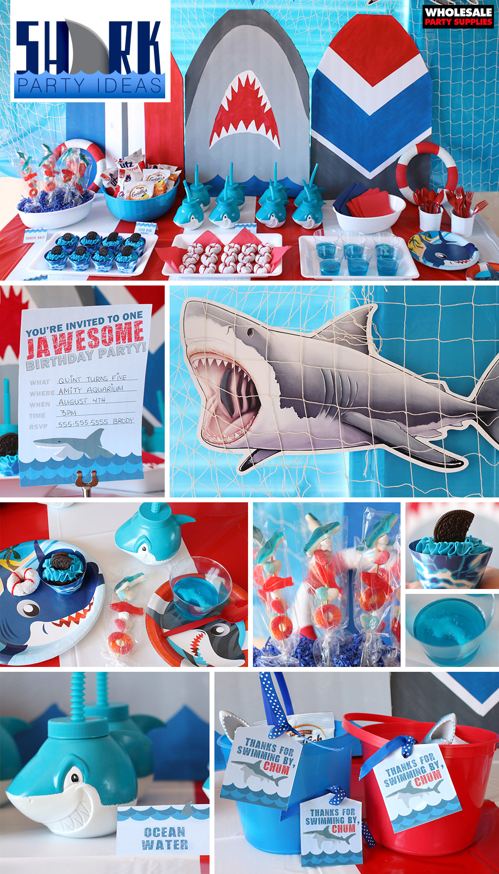 Shark Birthday Party Ideas Pinterest Guide