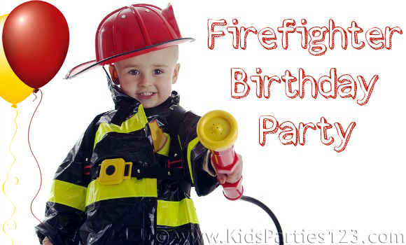 DIY Party Themes: Firefighter Party