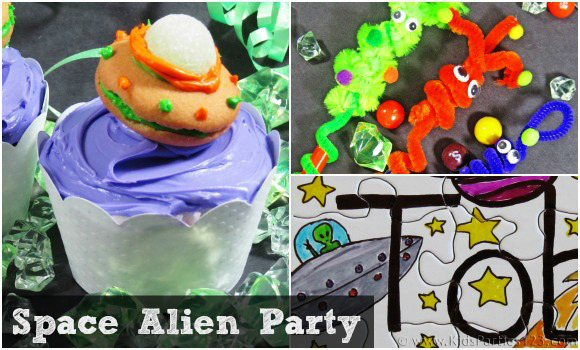 DIY Party Themes: Space Alien Party