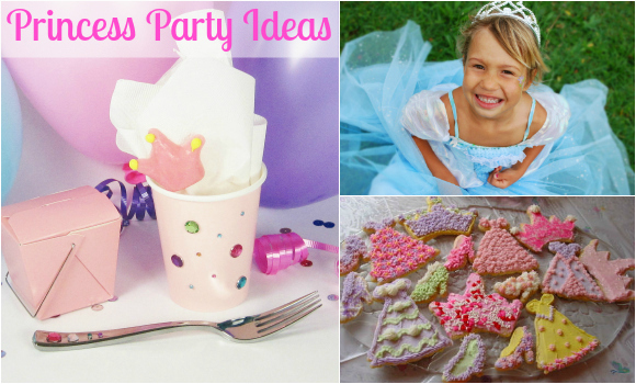 DIY Party Theme: Princess Birthday