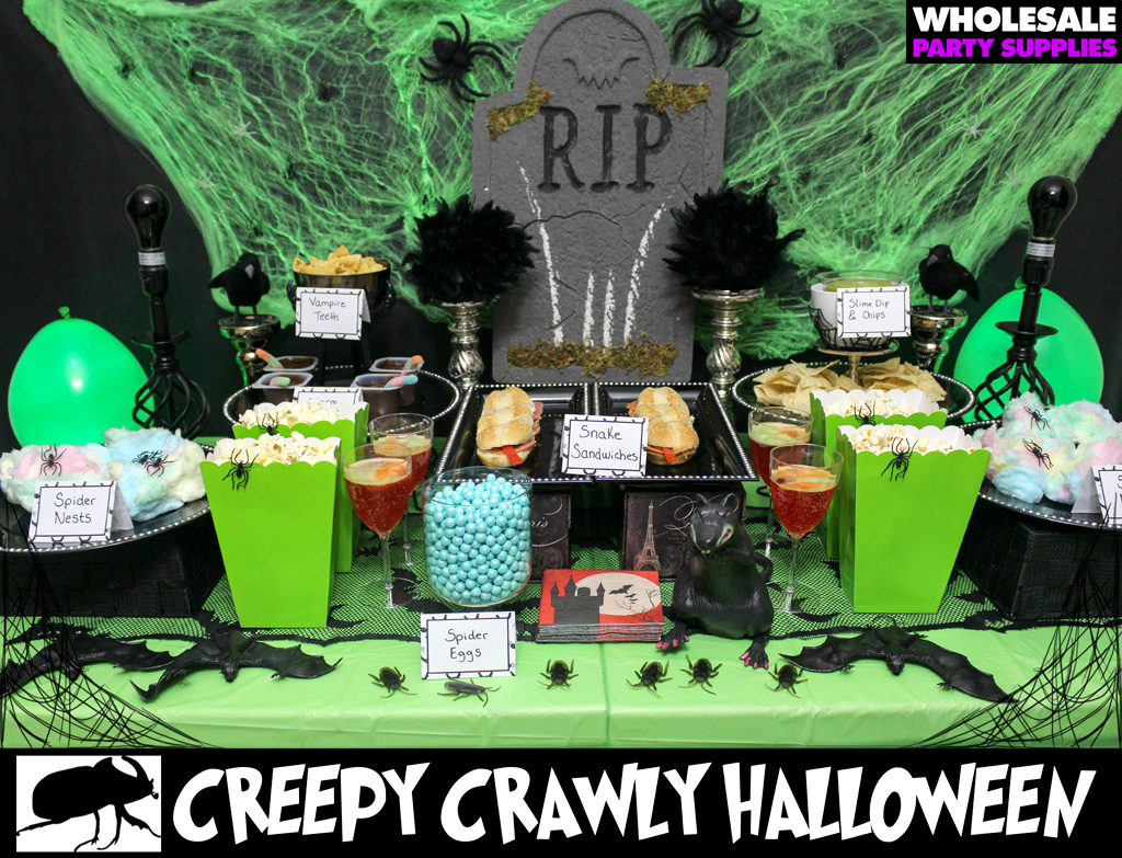 Creepy Crawly Party Idea