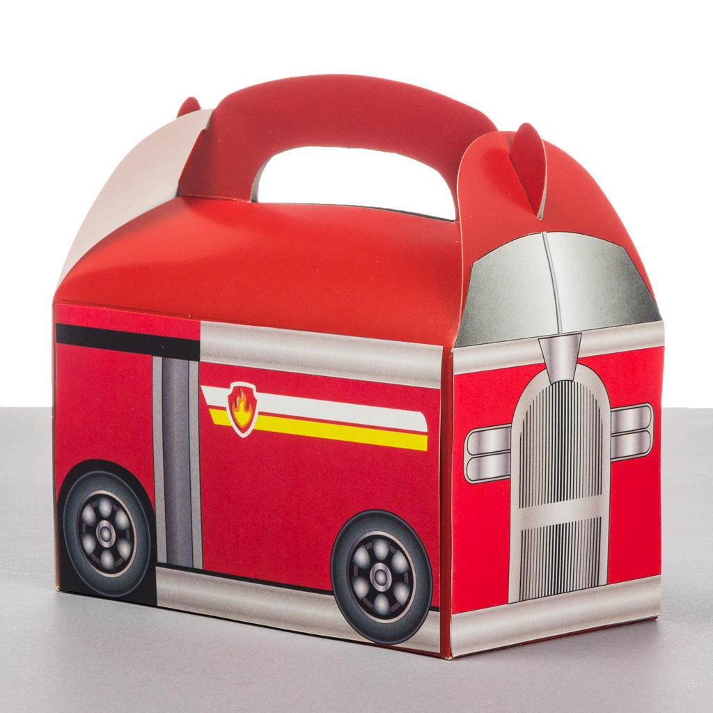 Paw Patrol Fire Truck Favor Box