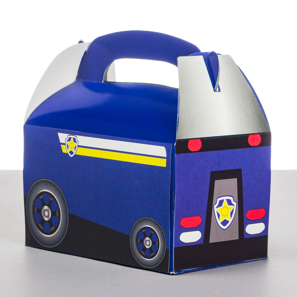 Paw Patrol Police Car Favor Box