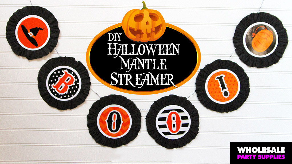 DIY Halloween Boo Banner Craft!