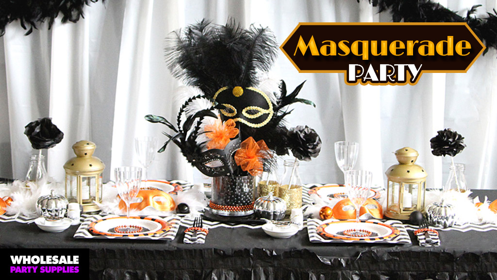 DIY Halloween Masquerade Party Ideas