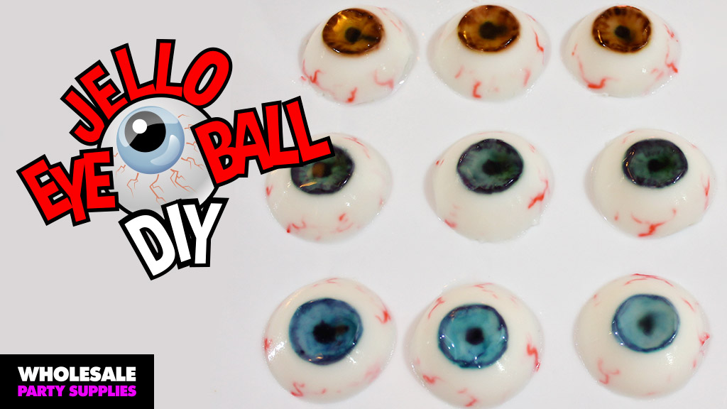 DIY Jello Eyeballs