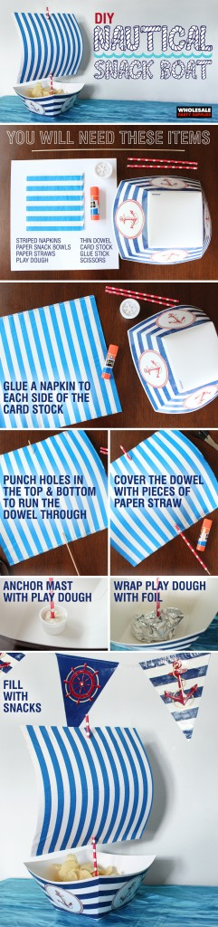 Nautical Boat Snack Guide