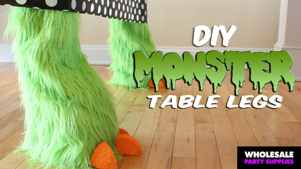 DIY Monster Mash Party Table