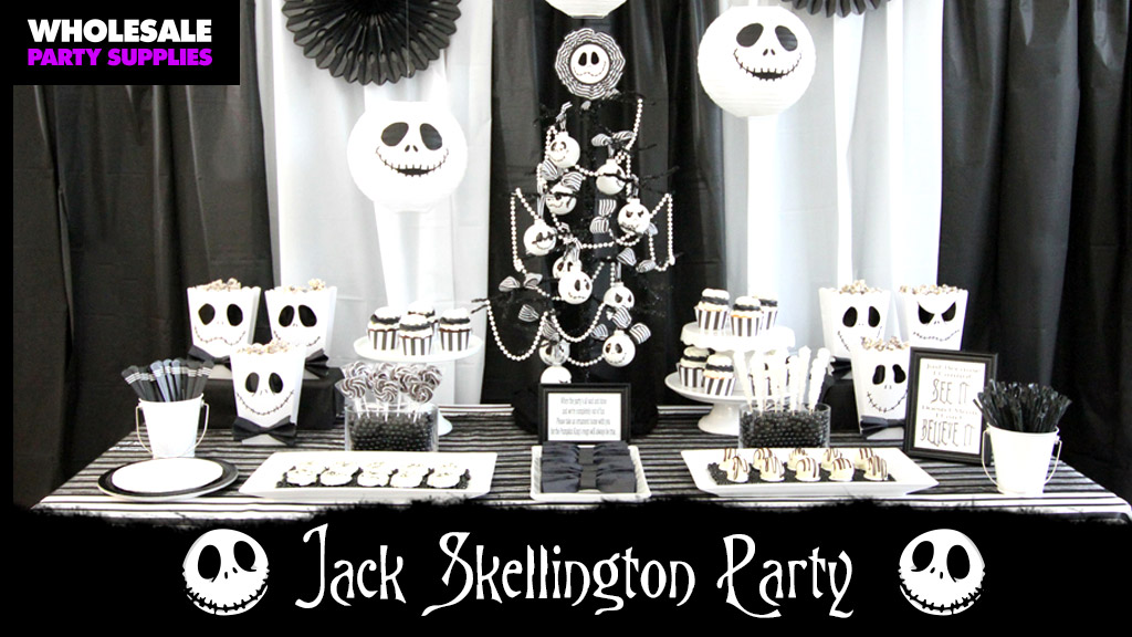 DIY Tim Burton Inspired Halloween Party