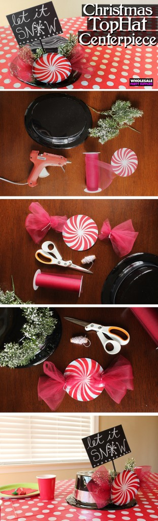 Top Hat Centerpiece How-To Guide