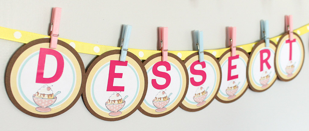 DIY Letter Garland Step 1