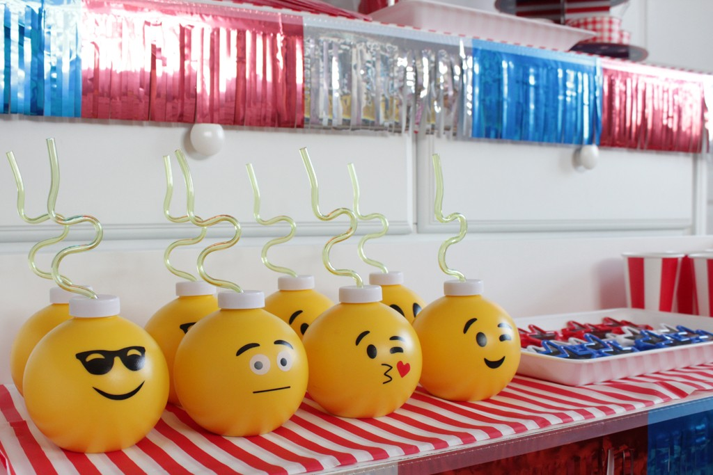 Emoji Party Cups for any Emoji Party