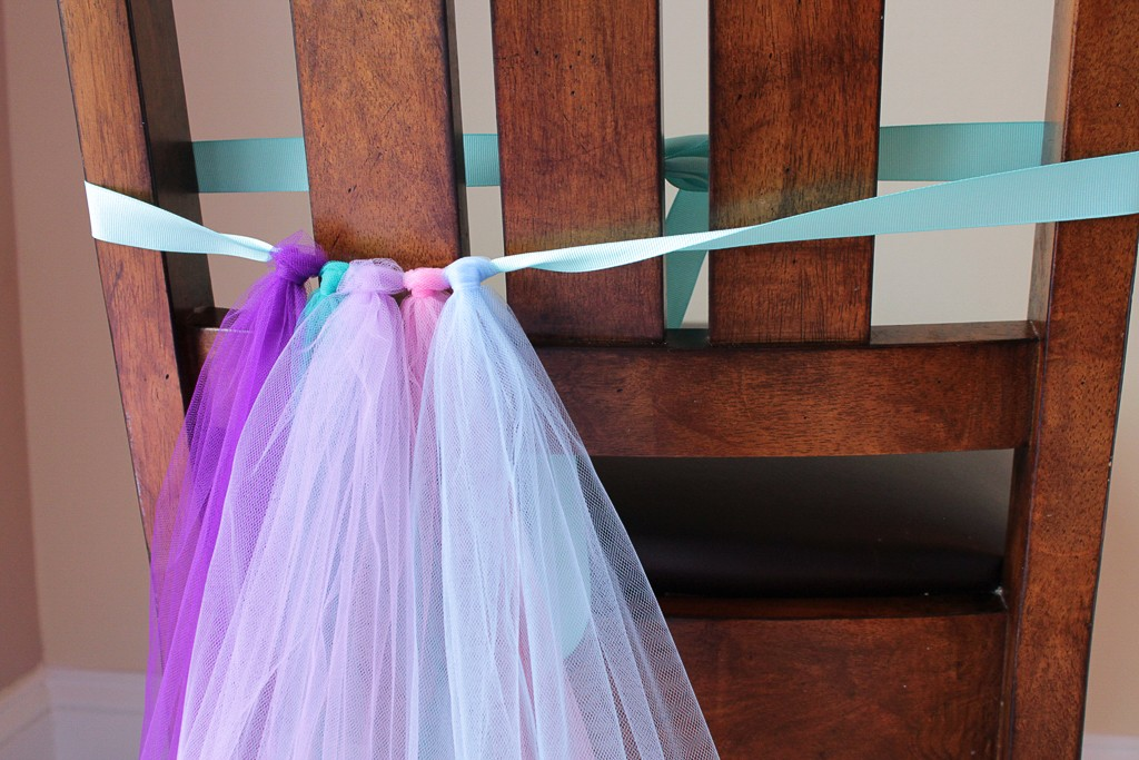 DIY Mermaid Tutu Decoration Step 3