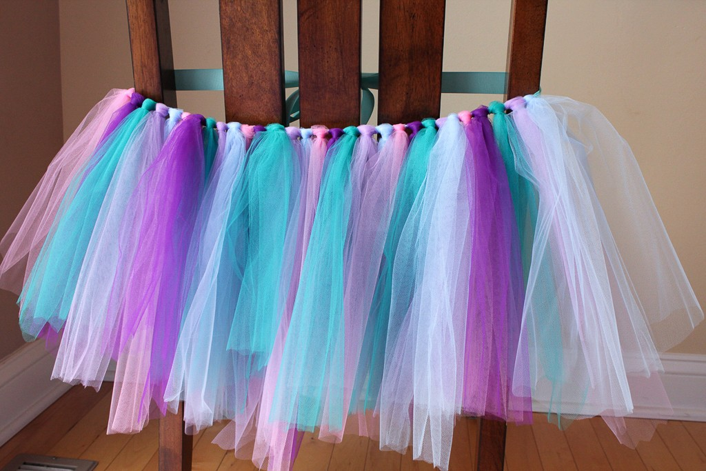 DIY Mermaid Tutu Decoration Step 4
