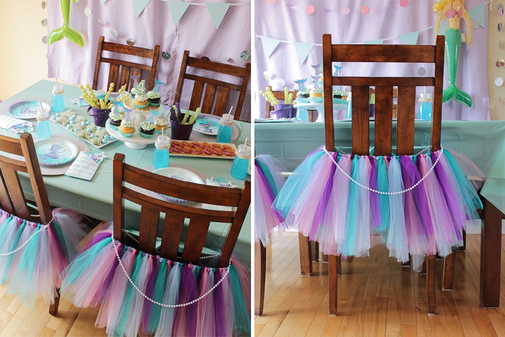 DIY Mermaid Tutu Decoration Step 5