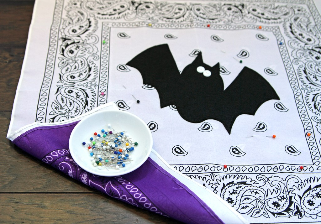 DIY Halloween Pillows Step 3