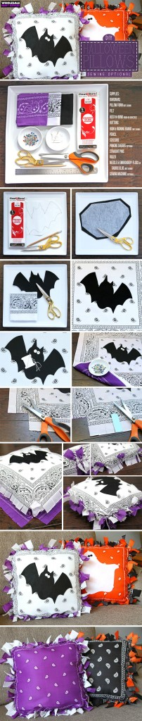 DIY Halloween Pillows Pinterest Guide
