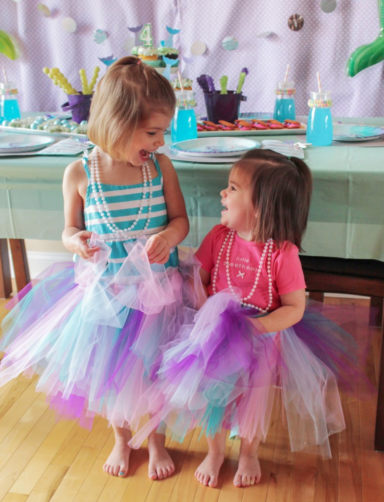 Mermaid Birthday Party Guests