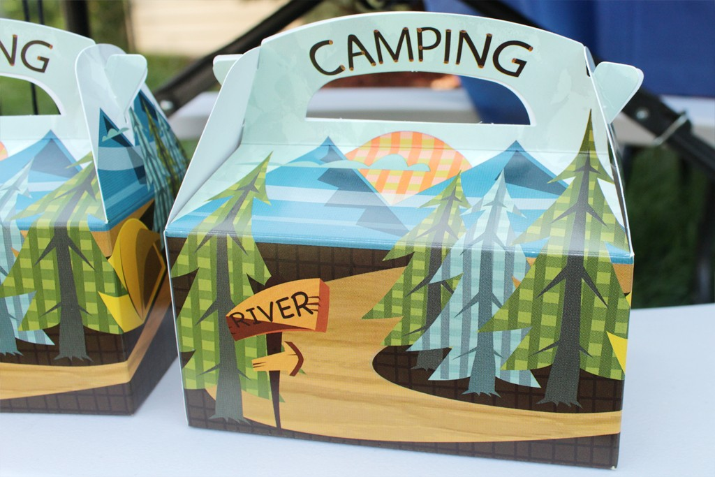 Let's Go Camping Party Favors