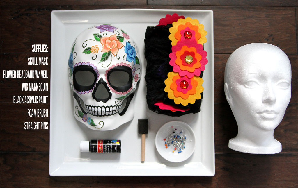 Sugar Skull Centerpiece for Day of the Dead Supplies