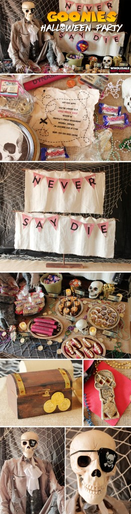 Goonies Party Ideas Throwback Halloween Pinterest Guide
