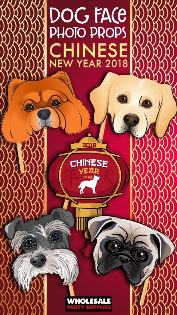Chinese New Year Printable Photo Props Pinterest Guide