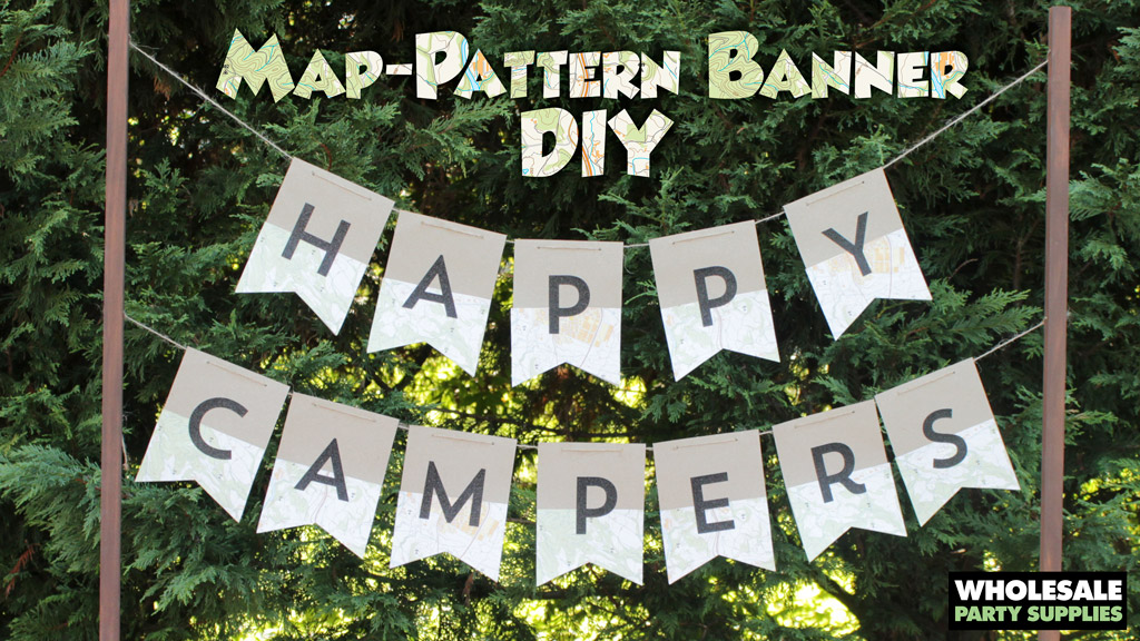 Happy Camper Banner DIY
