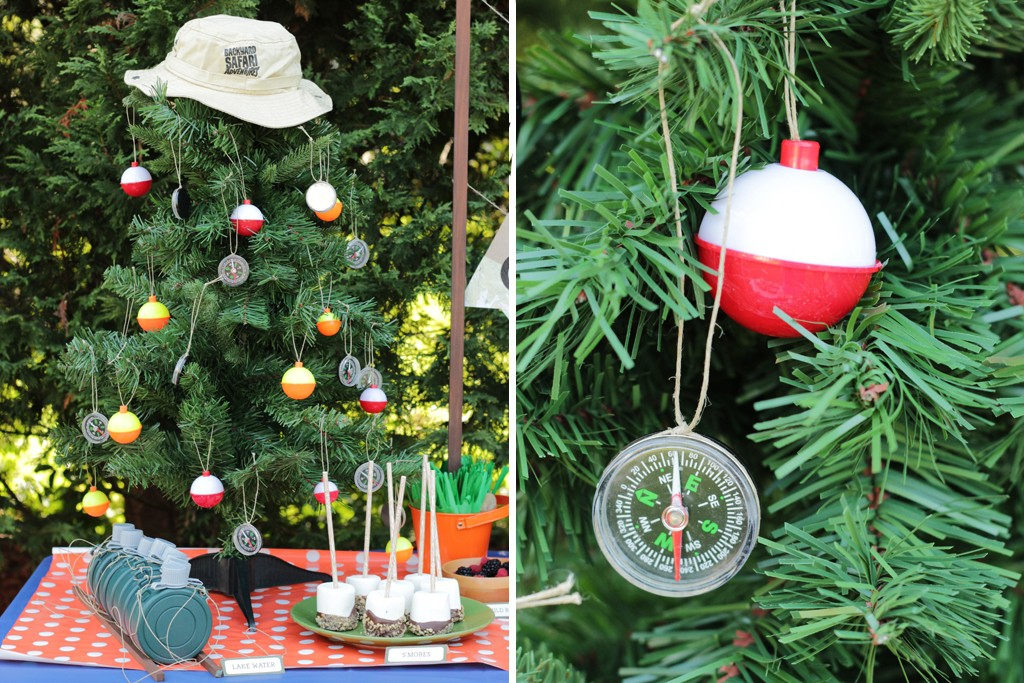 Let's Go Camping Party Decoration Details