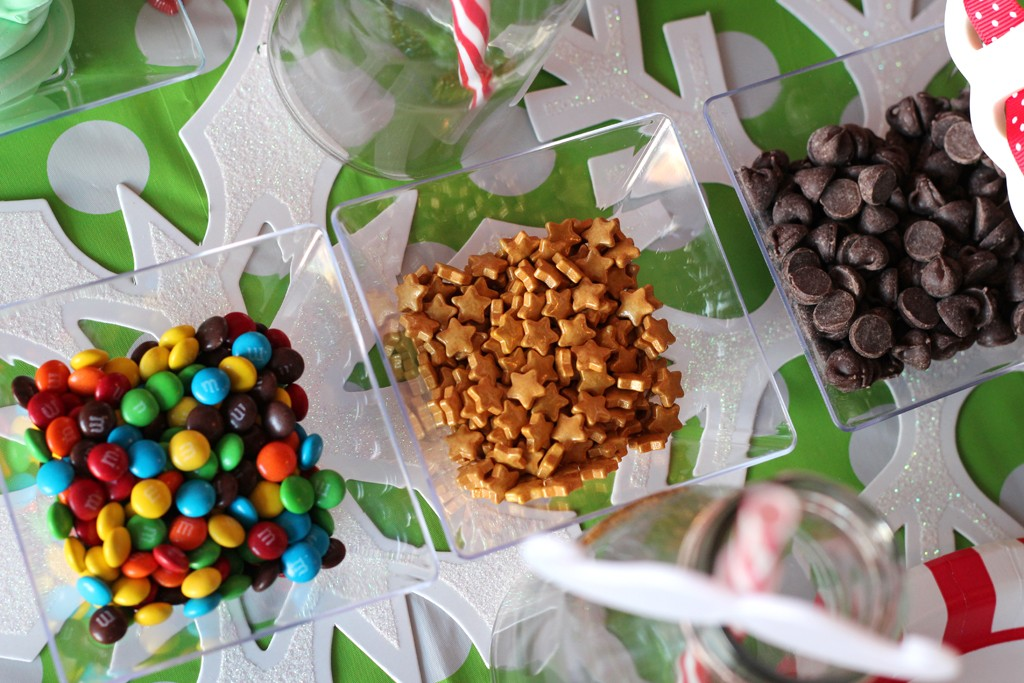 Christmas Crafting Party Food Details