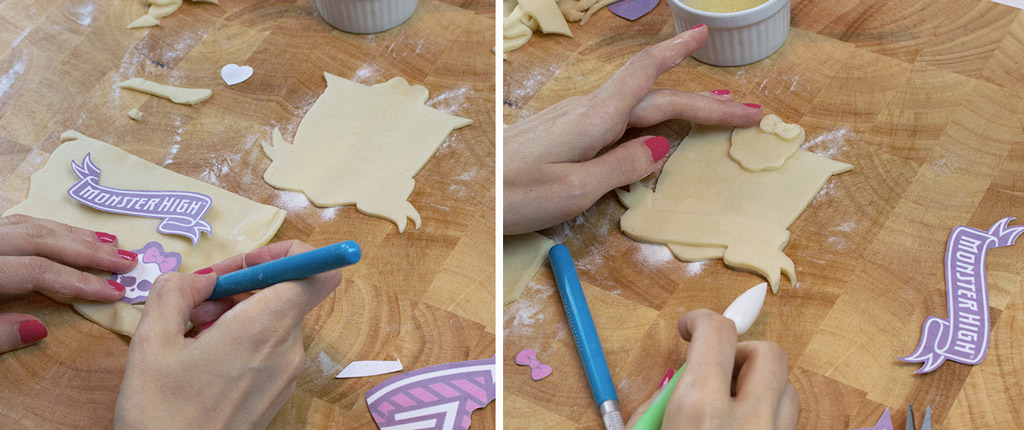 Monster High Crest Lattice Pie Step 3