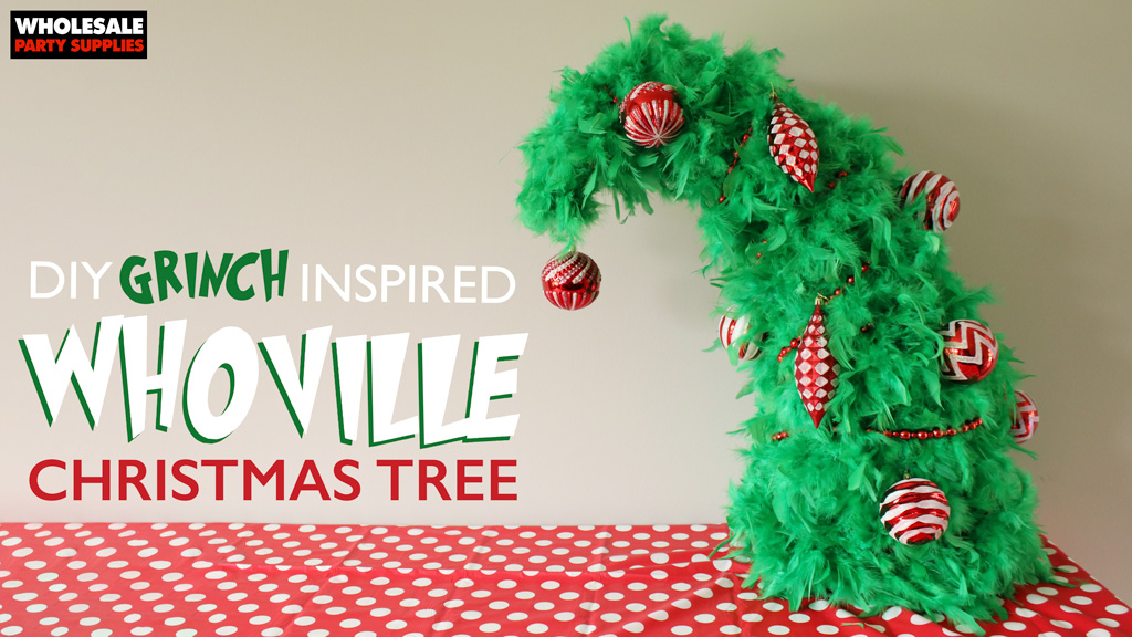 DIY Whoville Christmas Tree Tutorial