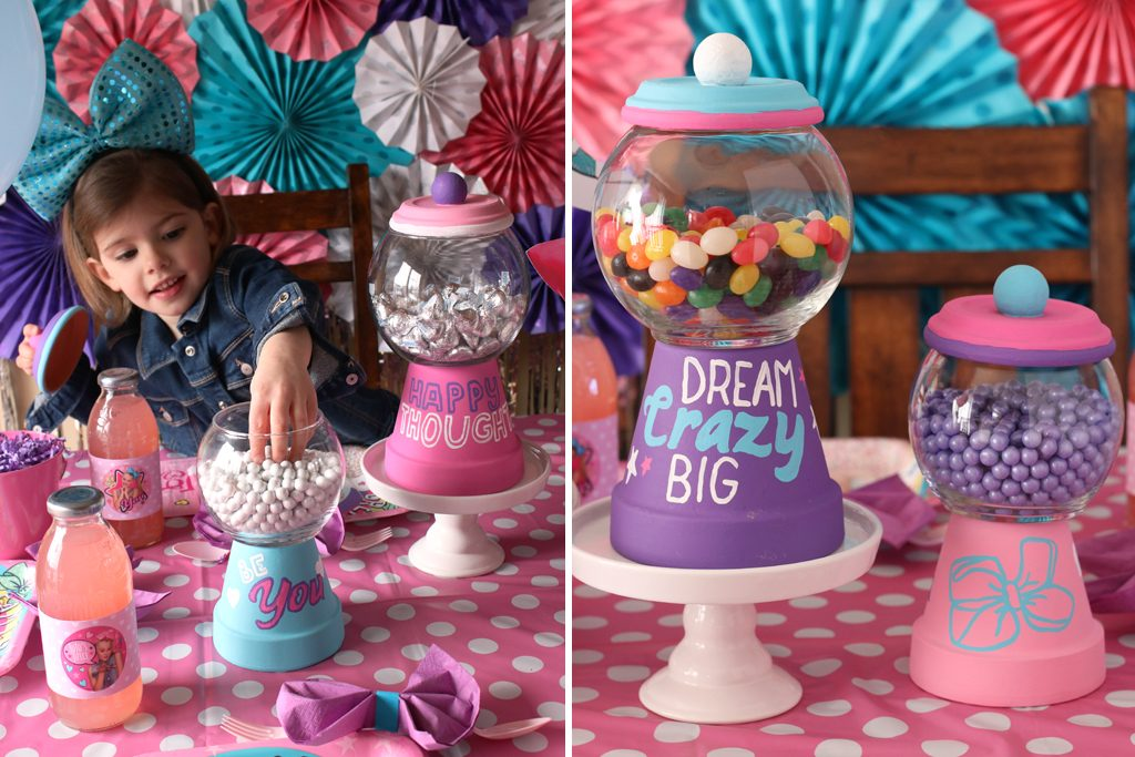 DIY Terra Cotta Candy Container - JoJo Siwa Style!