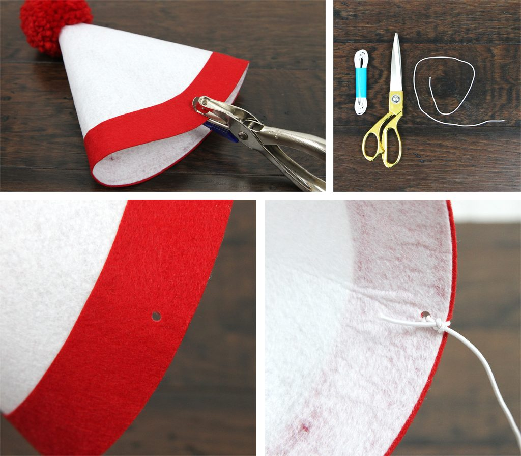 DIY Wheres Waldo Party Hat Step 5