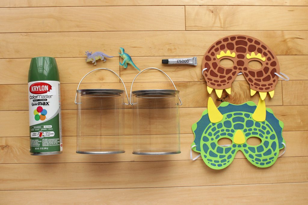 DIY Dinosaur Birthday Party Favor Supplies