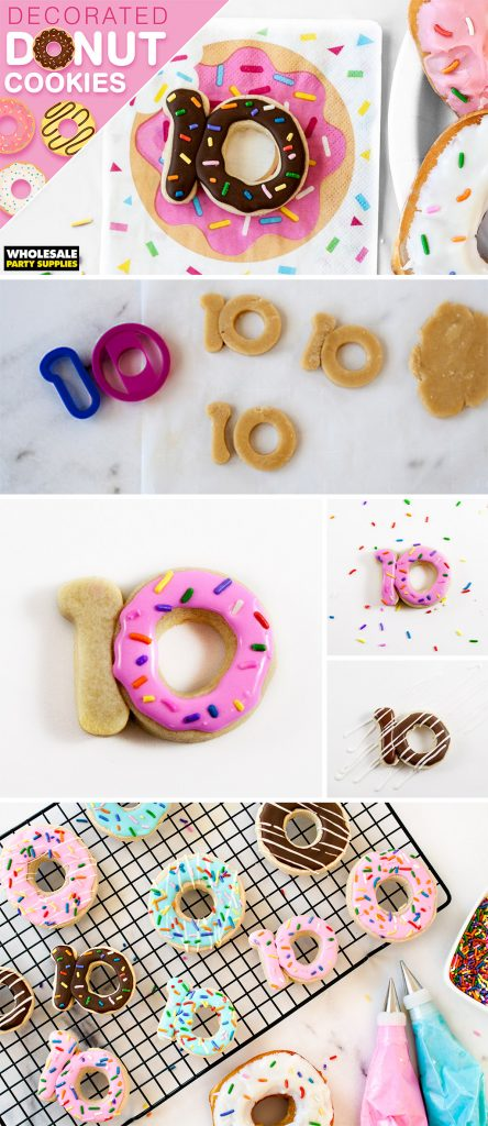 Decorated Donut Sugar Cookies Pinterest Guide