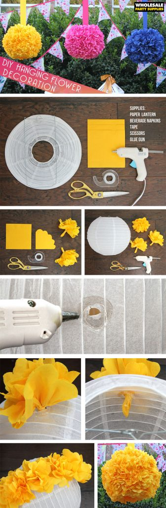 DIY Hanging Flower Globe Decoration Pinterest Guide