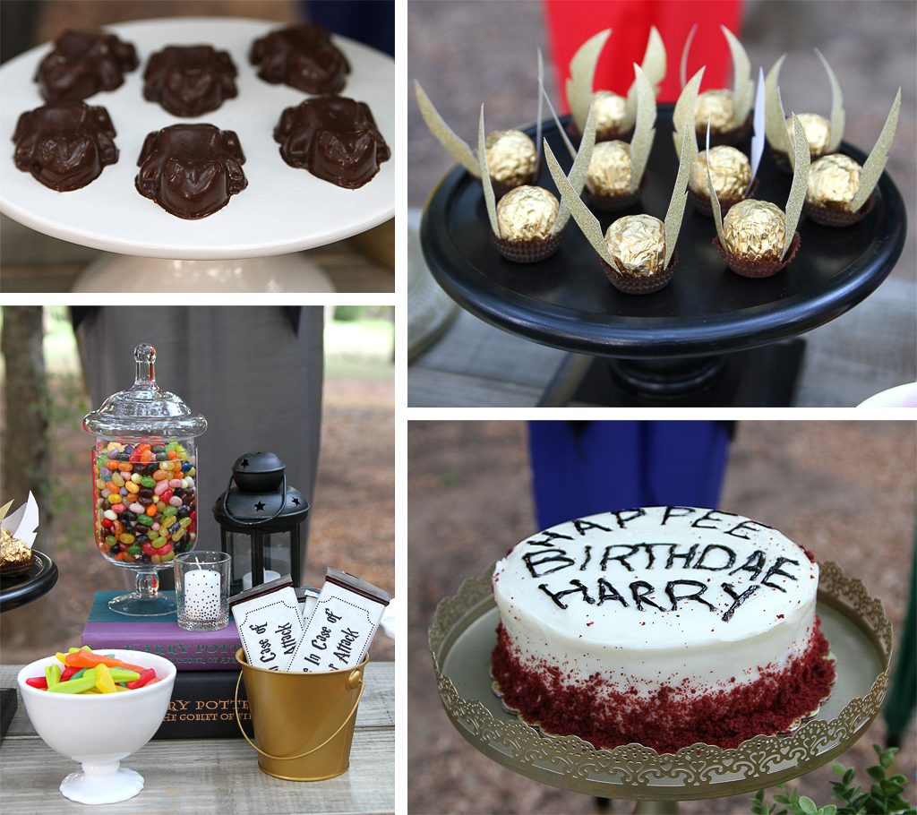 Harry Potter Party Desserts