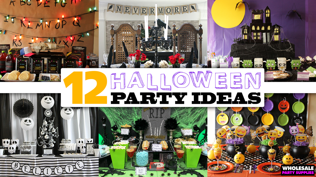 12 Halloween Party Themes