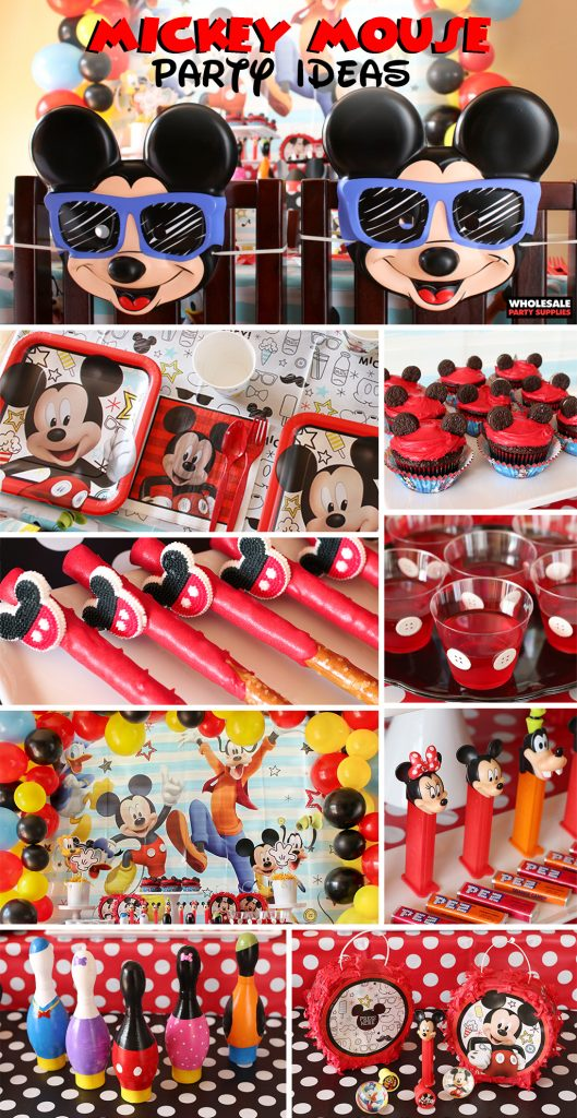 Mickey Mouse Party Ideas Pinterest Guide