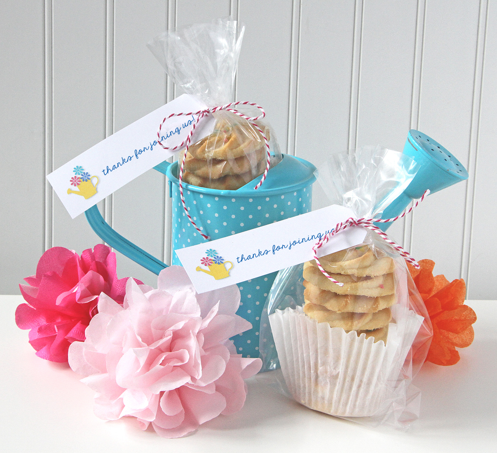 Blooming Garden Party Favors