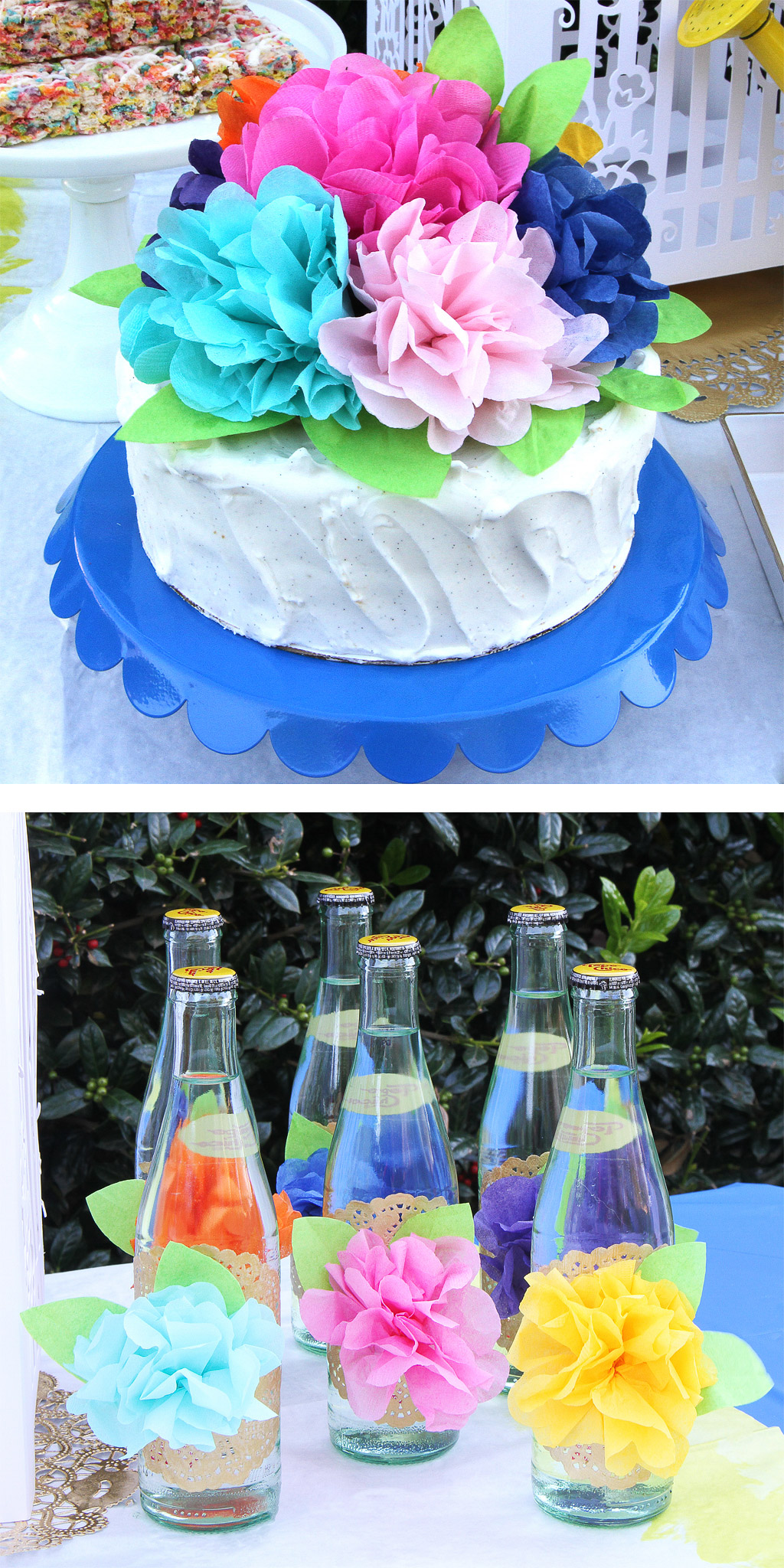 Blooming Garden Party Food Ideas
