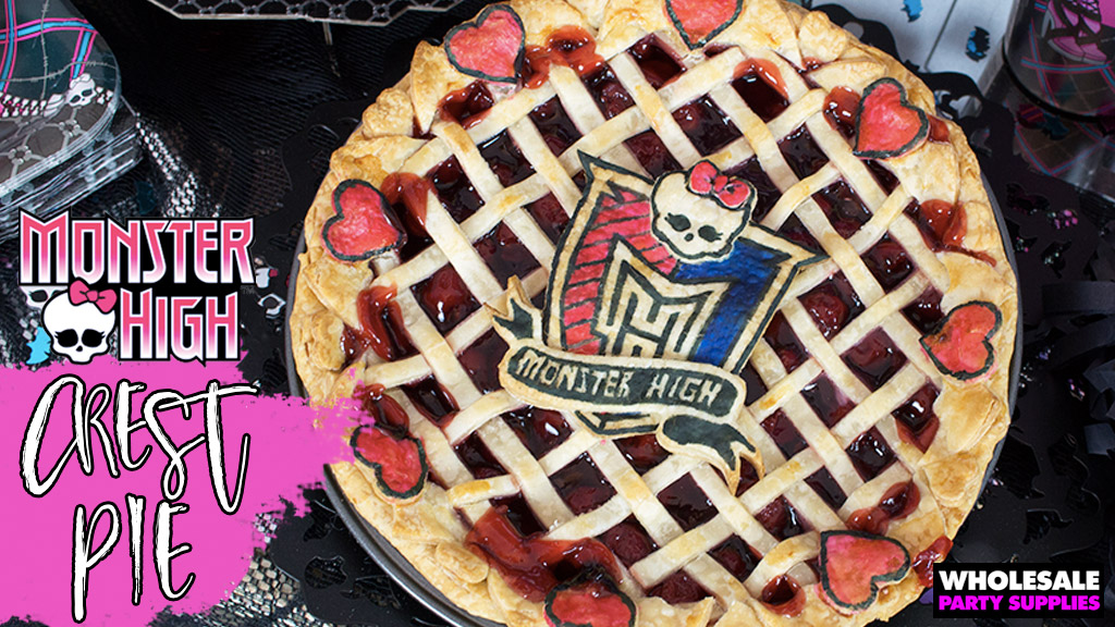 Monster High Crest Lattice Pie