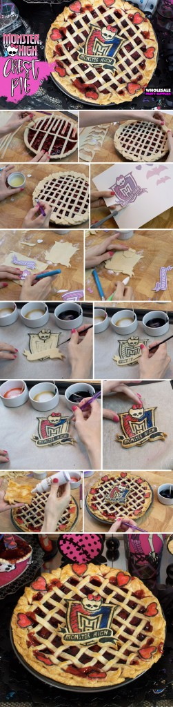 Monster High Crest Lattice Pie Pinterest Guide