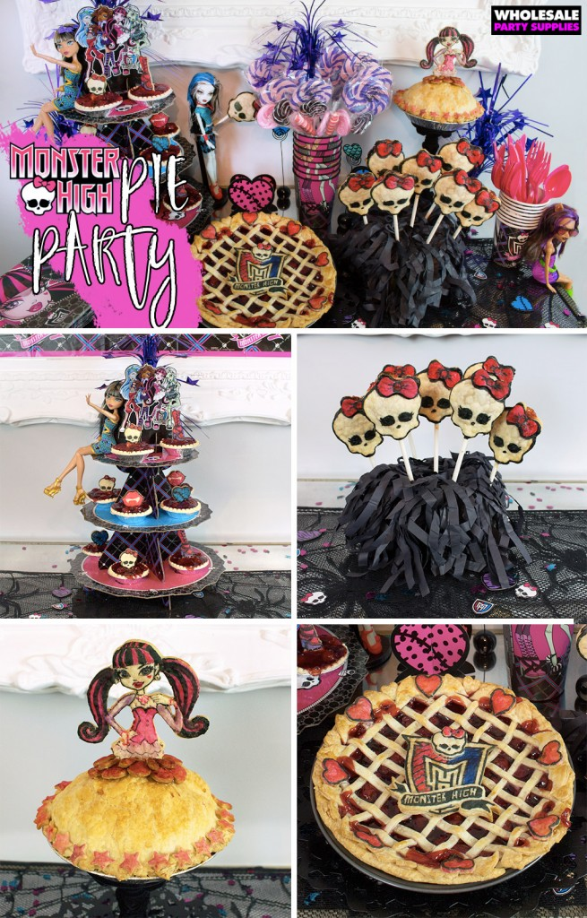 Monster High Pie Party Pinterest Guide